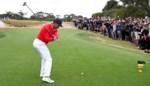 Verenigde Staten moeten ondanks sterke Tiger Woods achtervolgen op Presidents Cup