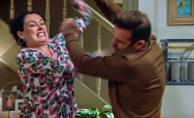 Bom barst na weken van ruzie in 'Familie': Gloria gaat volledig door het lint en valt Peter aan
