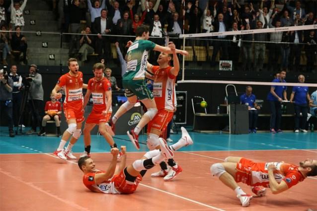 Leider Maaseik omzeilt met Menen lastige klip en blijft leider in het volleybal