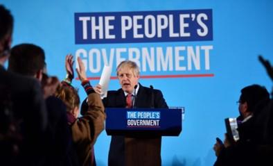 """Bekijk de overwinningspeech van Boris Johnson: """"We hebben het klaargespeeld"""""""
