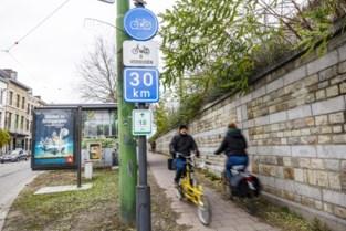 Niet sneller dan 30 km/u op fietspad