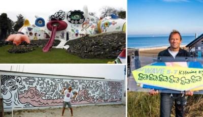 De Knokke-jaren van Amerikaanse topkunstenaar Keith Haring: van wonen in een draak tot uitgeveegde tekeningen die nu fortuin waard zouden zijn
