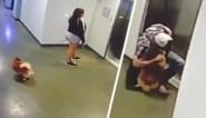 Man redt hondje van wat een verschrikkelijk lot zou zijn