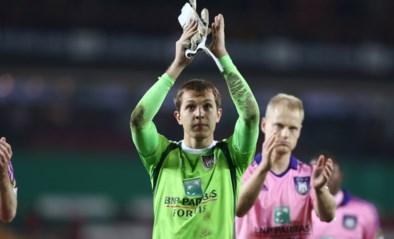 RC Genk wil doelman Davy Roef van Anderlecht huren