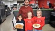 Pizzabakker en koffiehuis serveren met kerst 300 gratis pizza's en desserts aan minderbedeelden