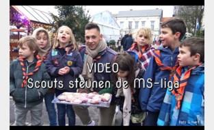 VIDEO. Scouts voor het goede doel op Wintermagie