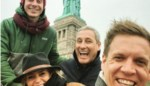 Gert Verhulst en James Cooke blazen samen met hun partners uit in New York