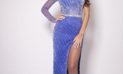 Miss België probeert Miss World te worden met een jurk van zes kilo