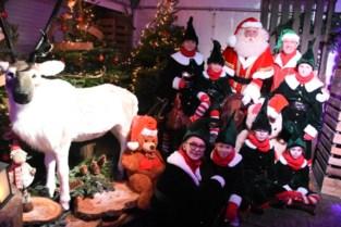 Kerstman krijgt een eigen huis in Halle