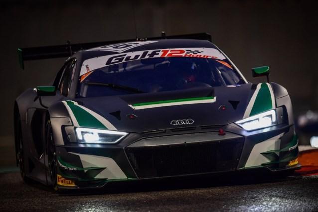 Dries Vanthoor wint 12 Uren van Abu Dhabi, Valentino Rossi 3e