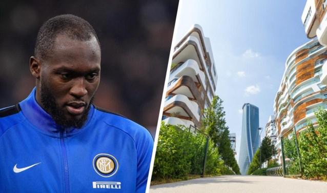 Romelu Lukaku heeft in Milaan twee luxeflats om zich op zijn job te kunnen focussen:eentje voor zichzelf en eentje voor zijn mama en zoontje