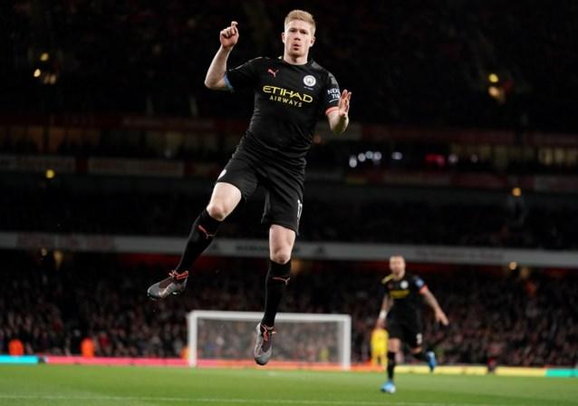"""Niets dan lof voor Kevin De Bruyne na masterclass tegen Arsenal: """"Hij is de beste ter wereld op die positie"""""""