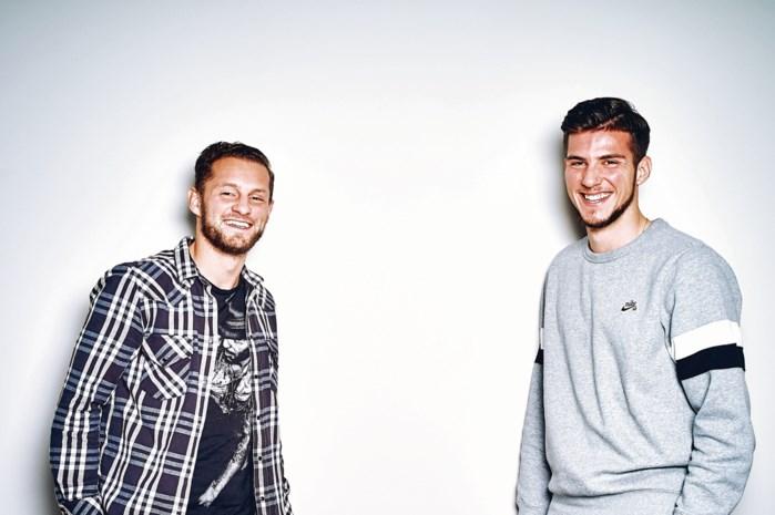 """Boezemvrienden Mats Rits en Jordi Vanlerberghe staan tegenover elkaar: """"We hebben ons op dezelfde dag verloofd"""""""