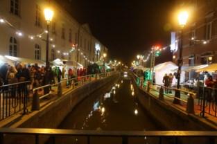 Kerstmarkt langs de Kleine Gete