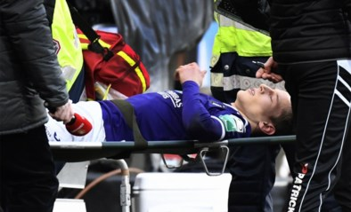 """Na de vreselijke beelden: horrorblessure Yari Verschaeren """"zou nog kunnen meevallen"""""""