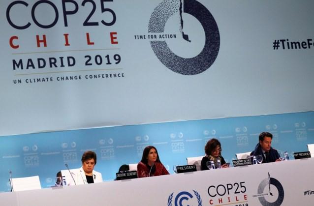 'Minimaal' akkoord bereikt op klimaattop in Madrid: belangrijkste agendapunt doorgeschoven naar volgend jaar