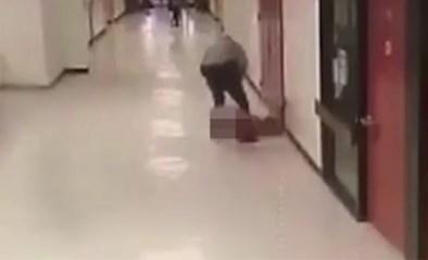 Schokkende beelden: agent gooit scholier op gewelddadige manier tegen de grond