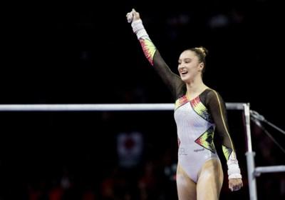 Nina Derwael begint met goed gevoel aan olympische campagne: geen last meer aan de voet, nieuwe oefening in de maak