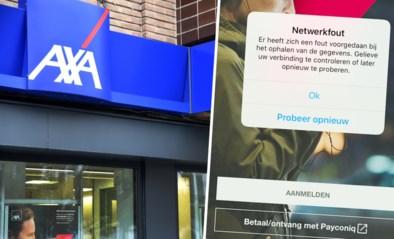 Mobiel bankieren en internetbankieren bij Axa Bank tijdelijk niet mogelijk