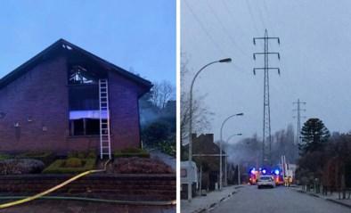 Twee doden bij hevige woningbrand in Aalst