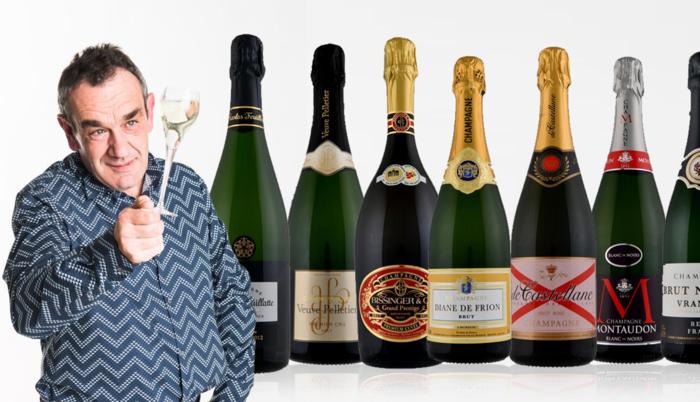 Alain Bloeykens kiest de 25 beste champagnes uit de supermarkt