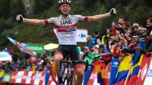 """Sloveens toptalent Tadej Pogacar waarschuwt: """"Voor Remco Evenepoel is de olympische wegrit misschien te zwaar"""""""