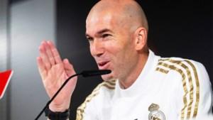 """Real Madridtrainer Zinédine Zidane over de Clasico: """"Gewoon een voetbalwedstrijd"""""""
