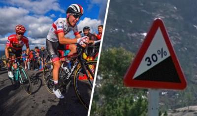 """Ook Vuelta kiest voor steile hellingen, met uitschieters tot bijna 30%: """"Ze willen het aantrekkelijker maken, maar dat leidt net tot minder spektakel"""""""