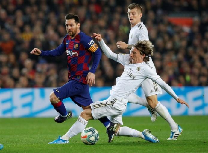 """""""We misten Hazard"""": Barcelona en Real Madrid houden elkaar in evenwicht in Clásico"""