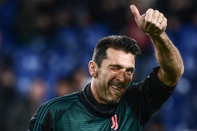 Gianluigi Buffon evenaart ongenaakbaar gewaand record van Paolo Maldini in Serie A