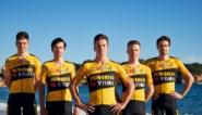 Wout van Aert blinkt in nieuw truitje Team Jumbo-Visma (dat kan pronken met indrukwekkend stel kopmannen)
