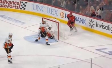 Straf: Hockeyspeler scoort twee identieke spectaculaire punten in de NHL