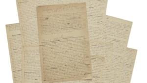 Origineel Olympisch manifest geveild voor een recordbedrag