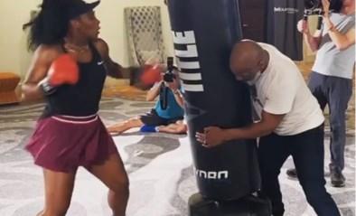 """Bokslegende Mike Tyson traint met Serena Williams en is onder de indruk: """"Zou niet met haar in de ring willen staan"""""""