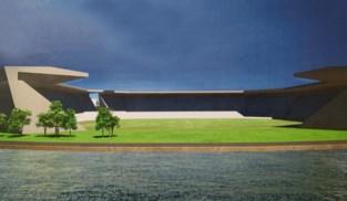 Plannen voor nieuwe voetbaltempel met zicht op Albertkanaal