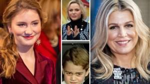ROYALS. Kate en William verrassen met ruige kerstkaart, koningin Máxima draagt glitterjurk