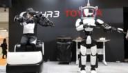 Toyota-bot danst erop los