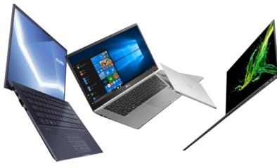 Onze gadget inspector wikt en weegt drie ultraslanke laptops