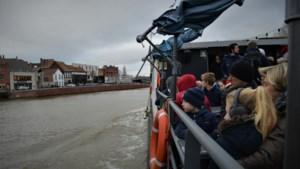 Nieuwe manier om naar de Warmste Week in Kortrijk af te zakken: met de boot