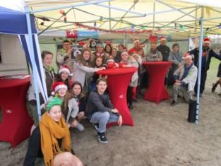 Scouts en Karboenkels hielden kerstmarkt