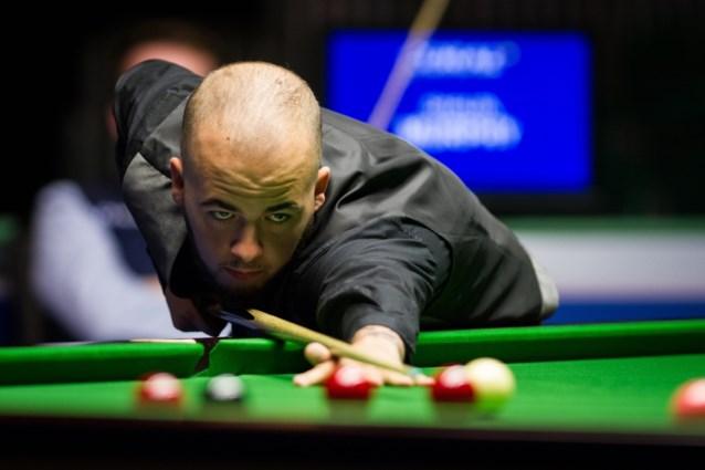 European Masters Qualifier snooker: Luca Brecel naar tweede ronde