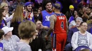 """NBA-ster is beledigingen beu en confronteert toeschouwers in de tribune: """"Ik zal me nooit laten vernederen op die manier"""""""