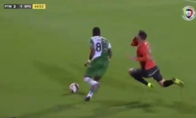 "Gewezen Anderlecht-speler Yannick Bolasie slachtoffer van regelrechte schwalbe: ""Stuur hem naar Hollywood!"""