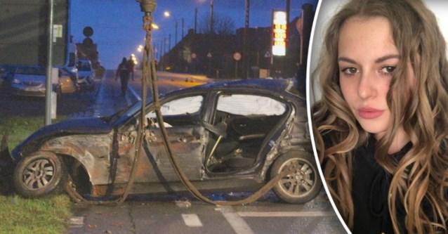 Emilie (20) sterft nadat ze uit wagen wordt geslingerd bij zware crash, bestuurder reed onder invloed
