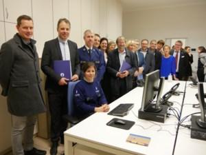 Wijkcommissariaat politie in oud-gemeentehuis Nevele