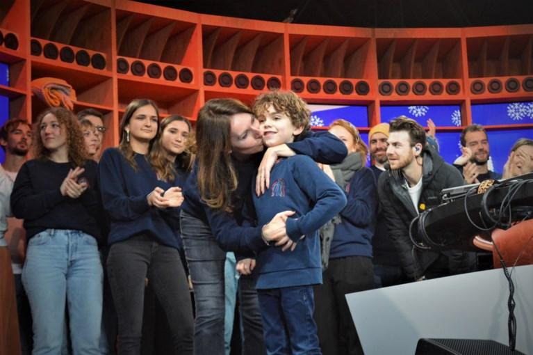 Pakkend én hilarisch: Studio Brussel eert Christophe Lambrecht, zoontje Maurice steelt show