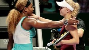 Wozniacki dubbelt in Auckland voor het eerst met Serena Williams