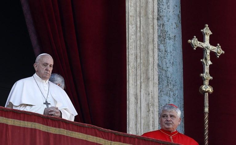 """Paus roept in kersttoespraak op om """"veiligheid in het Midden-Oosten te garanderen"""""""