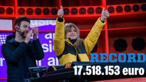 'De Warmste Week' verplettert oude record: maar liefst 17.518.153 euro binnengehaald