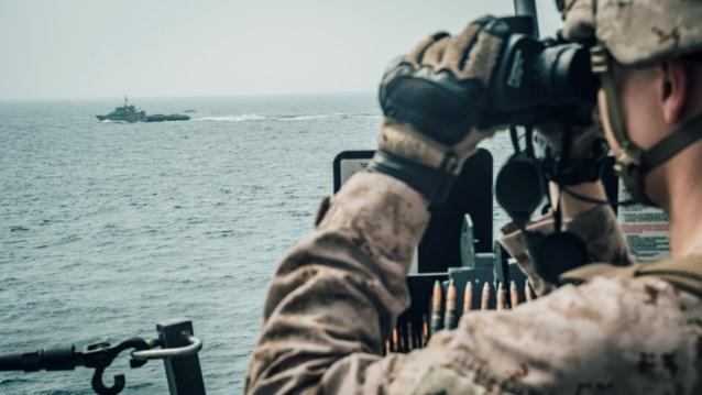 VS namen schip met Iraanse wapens in beslag in Arabische Zee